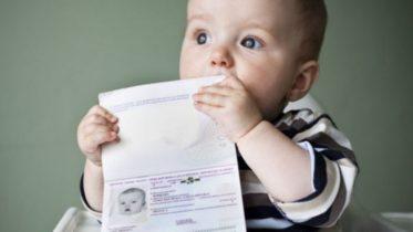 Как сделать новорожденным прописку 593
